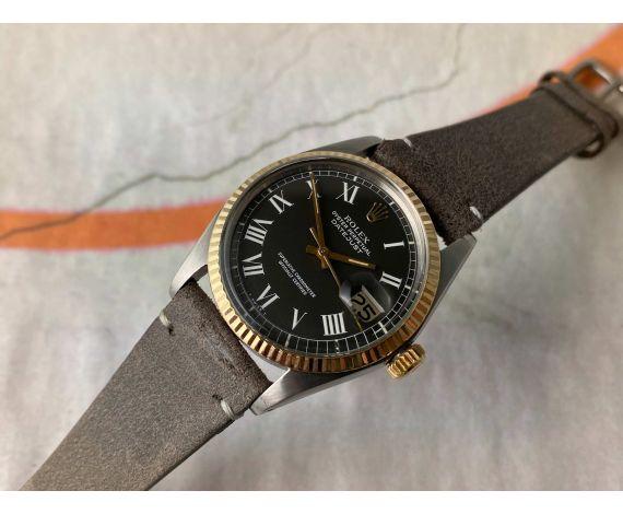 ROLEX OYSTER PERPETUAL DATEJUST Reloj suizo automático vintage Ref. 1601 SN: 3.44X.XXX Cal. 1570 *** COLECCIONISTAS ***