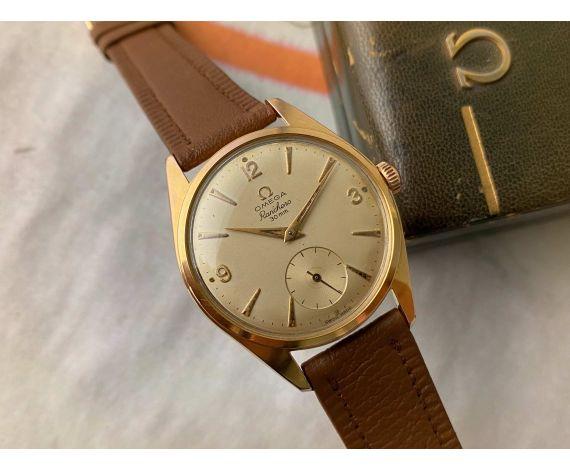 OMEGA RANCHERO 30mm Reloj suizo antiguo de cuerda 1958 Cal 267 Ref 2990-1 ESPECTACULAR *** CON ESTUCHE ***