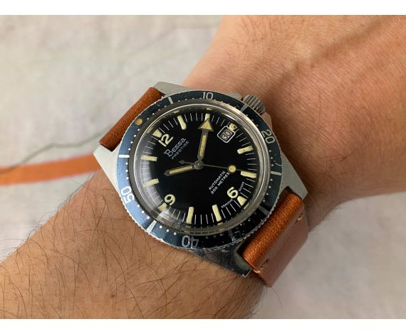 BESSA PRESTIGE 200M Vintage swiss automatic watch Cal. AS 1902/03 DIVER 20 ATM Bidirectional bezel *** BROAD ARROW ***