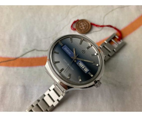 ZODIAC SST 36000 Vintage swiss automatic watch Cal. 86 Ref. 862 970 GIGANTE *** MINT ***