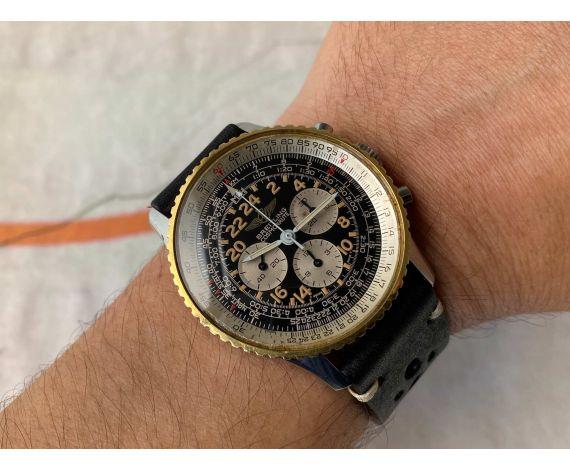 BREITLING NAVITIMER COSMONAUTE Ref 81600 Reloj crono suizo vintage de cuerda Cal B12 (Lemania 1873) Oversize *** COLLECTORS ***