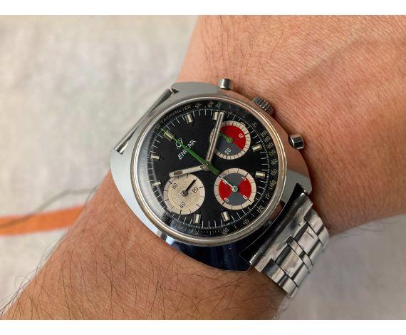 ENICAR OCEAN PEARL Reloj cronógrafo suizo vintage de cuerda manual Cal. Valjoux 726 Ref 2342 *** COLECCIONISTAS ***