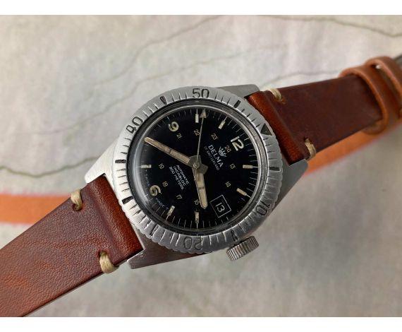DELMA OF SWITZERLAND Reloj DIVER vintage suizo automático Cal. ETA 2452 *** 200M ***