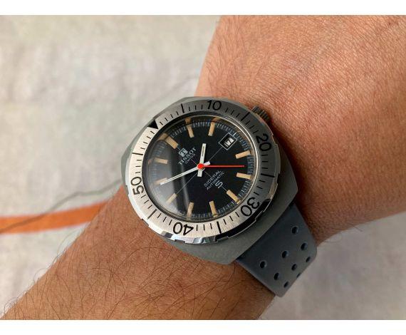 TISSOT SIDERAL DIVER Reloj vintage NOS suizo automático Cal. 784-2 PRECIOSO *** NUEVO DE ANTIGUO STOCK ***