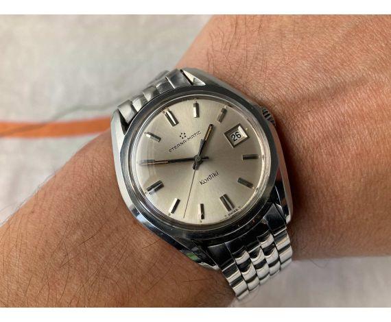 ETERNA-MATIC KONTIKI Ref. 130TT Reloj suizo antiguo automático Cal. 1424 UD *** OVERSIZE ***