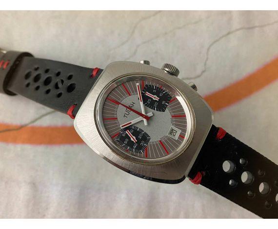 *JULIAN* TUCAH Reloj cronógrafo antiguo suizo de cuerda 5 ATM Cal. Valjoux 7734 Ref. 2059 *** PRECIOSO ***