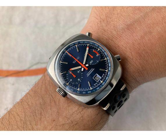 """THERMIDOR Reloj cronógrafo suizo antiguo automático """"Calibre 12"""" MICROTOR CHRONO-MATIC Cal. 12 *** ESPECTACULAR ***"""