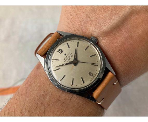 ZENITH CAPTAIN Reloj vintage suizo automático 20 Jewels Cal. 133.8 *** BUMPER ***