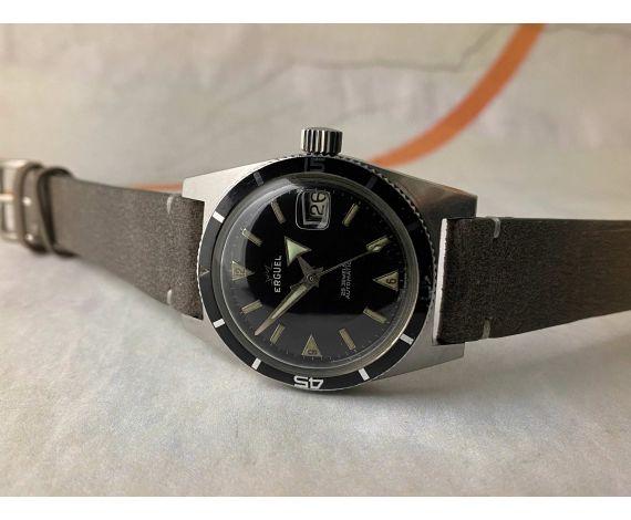 ERGUEL PLONGEURS Reloj suizo antiguo automático Cal AS 1700-01 DIVER BROAD ARROW *** 20 ATMOS ***