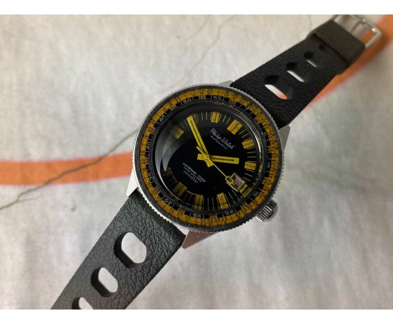 PHILIP WATCH CARIBBEAN 1000 Reloj suizo antiguo automático 1000 METERS 3300 FTS Cal. ETA 2724 *** TRIPLE SAFE ***
