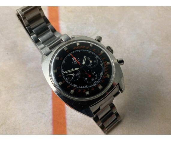 TISSOT SEASTAR T-12 Reloj vintage suizo cronógrafo de cuerda Cal. Lemania 871 Ref. 40506 *** GRAN DIÁMETRO ***