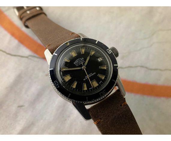 NOREXA Reloj suizo vintage automático Cal. ETA 2472 Ref. 1632 *** DIVER ***