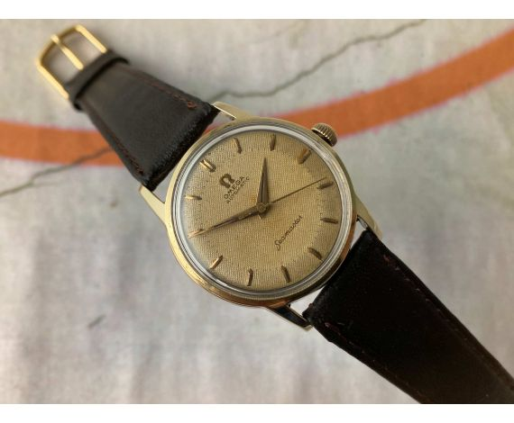 OMEGA SEAMASTER Vintage swiss automatic watch 1956 Cal. 471 Ref. 2790-5 *** BEAUTIFUL PATINA ***