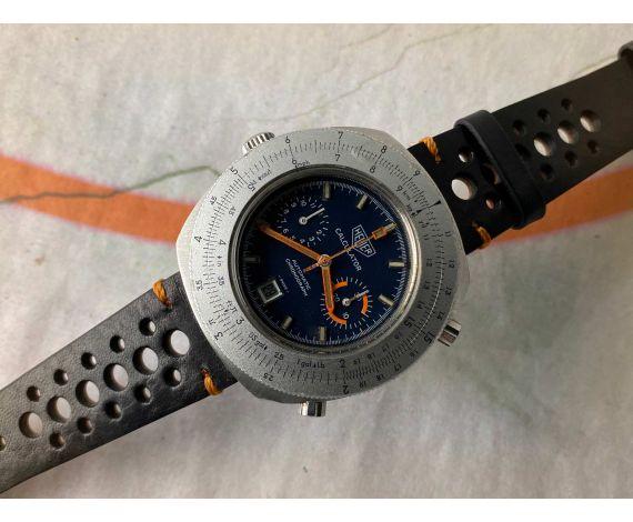 HEUER CALCULATOR Cal. 12 Vintage Reloj Cronógrafo suizo automático Ref. 110.633 *** COLECCIONISTAS ***