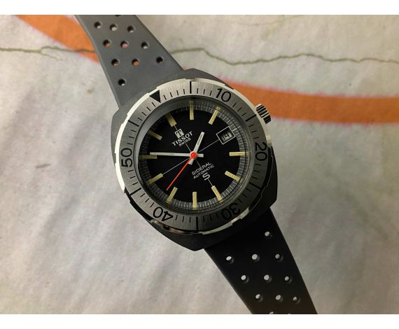 TISSOT SIDERAL DIVER NEW OLD STOCK Vintage swiss automatic watch Cal. 784-2 SPECTACULAR *** N.O.S. ***