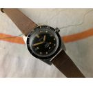 HOSAM SUPER SQUALE SUPERMATIC 200 Vintage swiss automatic DIVER watch 20 ATMOS Screw Down Crown *** OVERSIZE ***