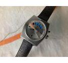 AQUASTAR SA GENÈVE REGATE Ref. 9854 Vintage chronograph swiss automatic watch Lemania 1345 OVERSIZE *** COLLECTORS ***