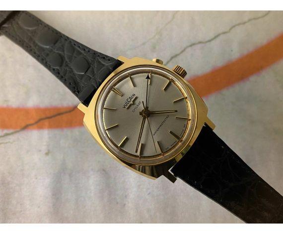 VULCAIN CRICKET Wrist Alarm Reloj Alarma suizo antiguo de cuerda Ref. S2317A *** MINT ***