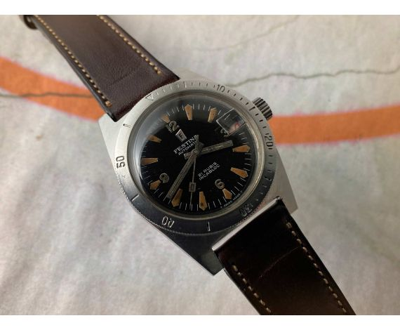 DIVER FESTINA Vintage swiss automatic watch 600 FEET 18 ATMOS Cal. FELSA 4007N *** BEAUTIFUL ***