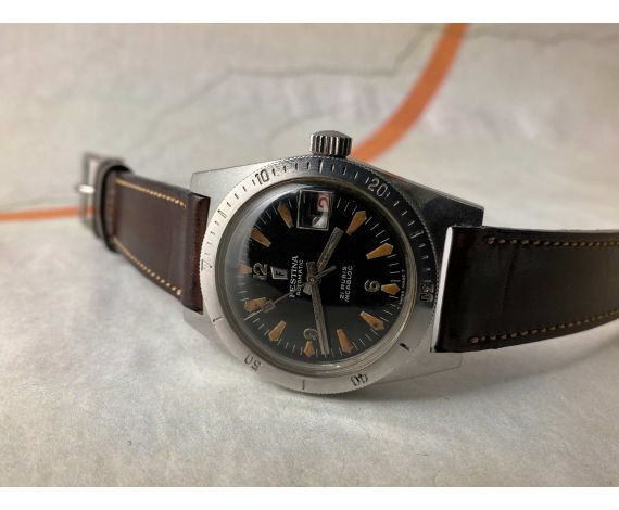 DIVER FESTINA Reloj suizo vintage automático 600 FEET 18 ATMOS Cal. FELSA 4007N *** PRECIOSO ***