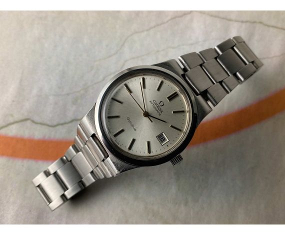 OMEGA GENÈVE Vintage swiss automatic watch 1973 Cal. 1012 Ref. 166.0173-366.0832 *** PRECIOUS ***