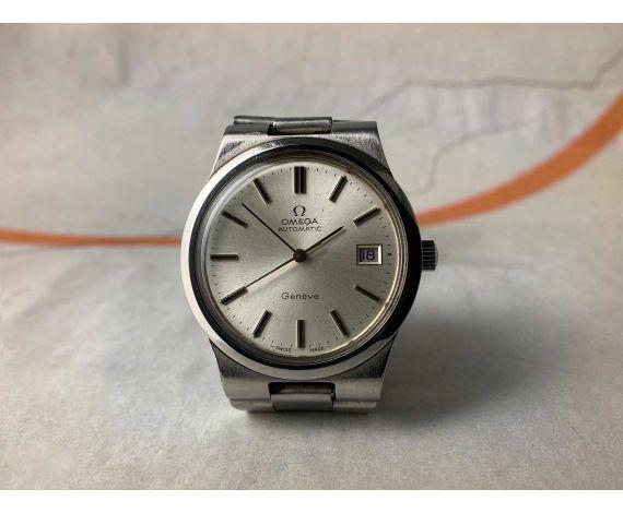 OMEGA GENÈVE Reloj suizo antiguo automático 1973 Cal. 1012 Ref. 166.0173-366.0832 *** PRECIOSO ***
