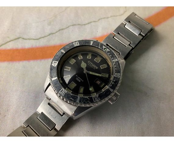 CITIZEN CHALLENGE 150M Reloj DIVER antiguo automático Ref. 62-6198 Cal. 6000 *** ESPECTACULAR ***