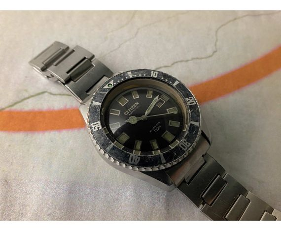 CITIZEN CHALLENGE 150M Antique DIVER automatic watch Ref. 62-6198 Cal. 6000 *** SPECTACULAR ***
