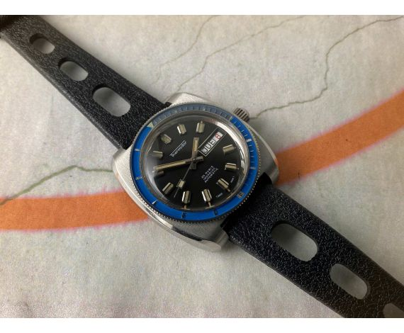 THERMIDOR DIVER Vintage swiss automatic watch 20 ATM Cal. AS 1906 *** SCREW DOWN CROWN ***