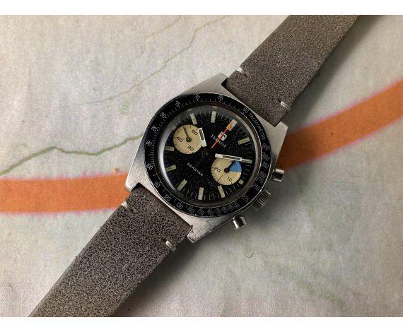 TISSOT SEASTAR Reloj vintage suizo cronógrafo de cuerda Cal. Lemania 1277 Ref 40508-8X *** ESPECTACULAR PÁTINA ***