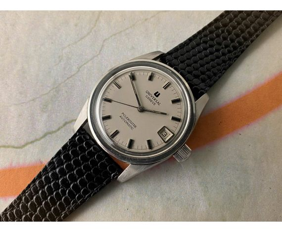 UNIVERSAL GENEVE POLEROUTER SUPER Ref. 869112 Vintage swiss automatic watch Cal. 1-69 MICROTOR *** SPECTACULAR ***