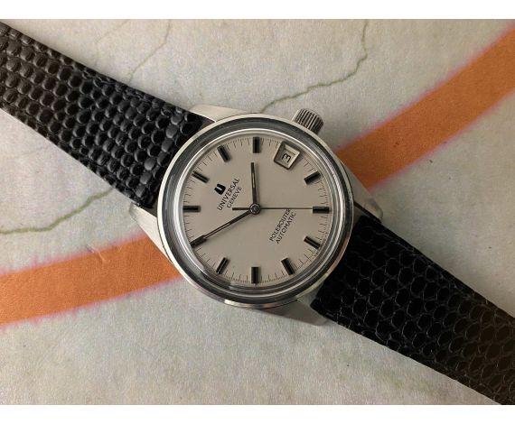 UNIVERSAL GENEVE POLEROUTER SUPER Ref. 869112 Reloj suizo vintage automático Cal. 1-69 MICROTOR *** ESPECTACULAR ***