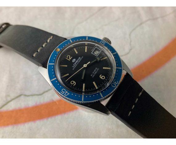 LORENZ EDOX AUTOMATIC-PERPETUA Reloj suizo antiguo automático DIVER Cal. AS 1902/03 *** 12 ATMOSPHERES ***