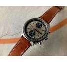 SEIKO PANDA Vintage automatic chronograph watch 1977 Ref. 6138-8020 Cal. 6138-B *** SPECTACULAR TROPICALIZED DIAL ***