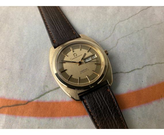OMEGA CONSTELLATION Reloj suizo vintage automático Ref. 166.0222 Cal. 1022 *** JUMBO ***