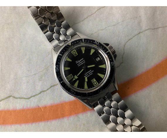 POLYMAC SUPERMAN PATENT PENDING 990 FEET Reloj DIVER 30 ATM vintage suizo automático Cal. ETA 2452 *** RAREZA ***