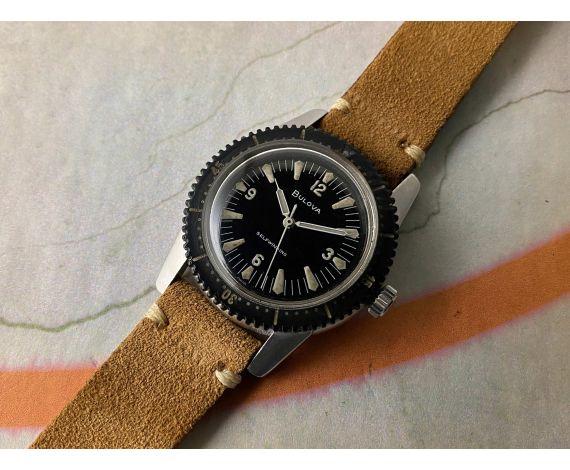 BULOVA 1961 SNORKEL 666 M1 Reloj suizo vintage automático RAREZA Cal. 11AFAC. COMPRESSOR *** COLECCIONISTAS ***
