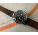 YEMA FLYGRAF Chronographe Vintage chronograph automatic watch Cal Valjoux 7750 *** COLLECTORS ***