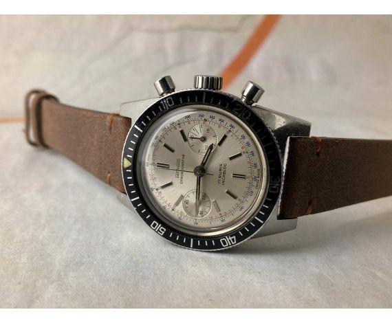 DATZWARD Vintage Chronograph Swiss Diver manual winding watch Cal. Landeron 248 *** SPECTACULAR ***