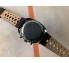 ELGIN Vintage chronograph hand wind watch Cal. Valjoux 7733 RACING STYLE 5 ATM *** PANDA REVERSE ***