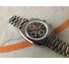 NOS CAUNY PRIMA CAUNYMATIC Vintage swiss chronograph automatic winding watch Cal. Valjoux 7750 *** MINT ***