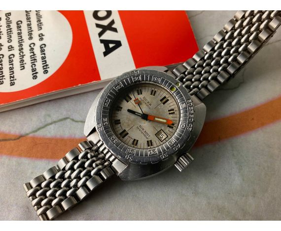 DOXA SUB 300T SEARAMBLER Ref. 11899-4 Reloj suizo antiguo automático Cal. ETA 2783 OVERSIZE *** COLECCIONISTAS ***