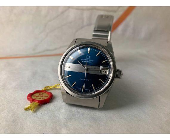 UNIVERSAL GENEVE POLEROUTER SUPER Reloj suizo vintage automático Cal. 1-69 Ref. 869112 ESPECTACULAR *** MINT ***