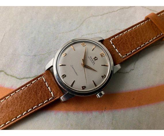 OMEGA SEAMASTER 1954 BUMPER Reloj suizo antiguo automático Ref. 2765-2 Cal. 354 *** ESPECTACULAR ***
