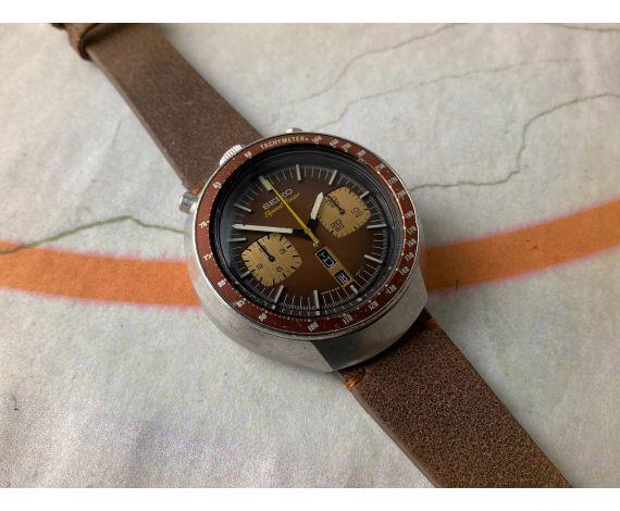 SEIKO BULLHEAD SPEEDTIMER Ref. 6138-0040 Vintage automatic chronograph watch Cal 6138 B JAPAN J 1977 *** PRECIOUS ***