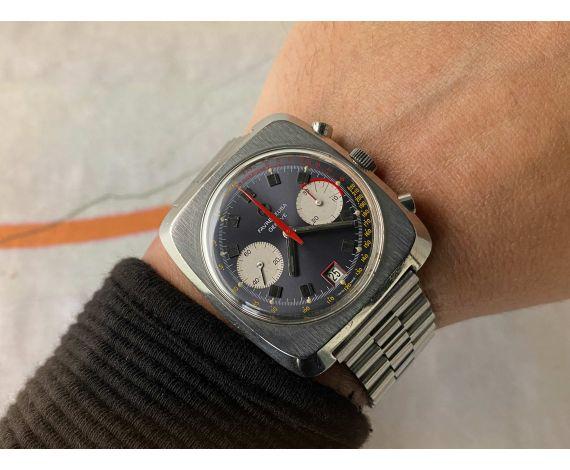 FAVRE LEUBA GENEVE Reloj cronógrafo antiguo de cuerda 10 ATU Cal Valjoux 232 Ref. 31013 *** ESPECTACULAR ***
