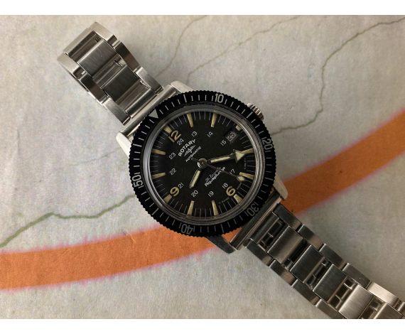ROTARY AQUAPLUNGE DIVER Reloj suizo vintage automático 60s Cal. AS 1712/13 Ref. 66 18 59 *** PRECIOSO ***