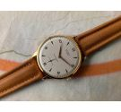 NOS STUDIO Vintage hand winding swiss watch Plaque OR Cal. Vulcain 590 Textured dial. OVERSIZE 38 mm *** NEW OLD STOCK ***