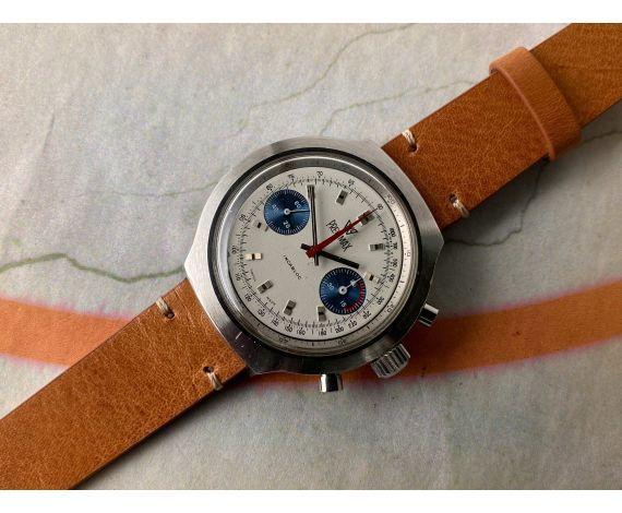 PRECIMAX Reloj suizo Cronógrafo antiguo de cuerda Cal. Valjoux 7733 *** OVERSIZE ***