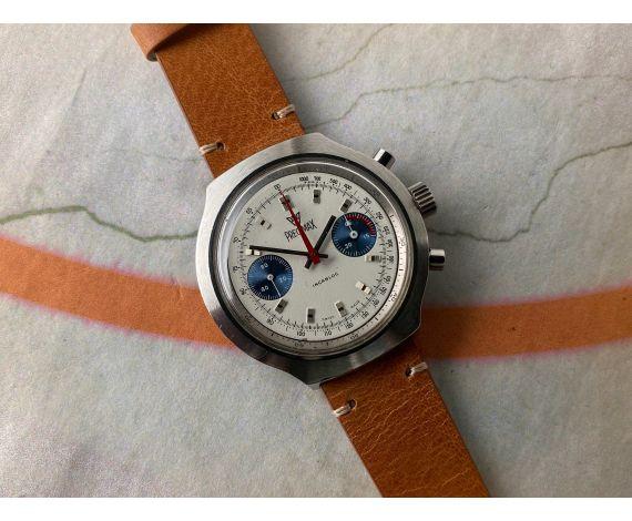 PRECIMAX Vintage swiss hand winding chronograph watch Cal. Valjoux 7733 *** OVERSIZE ***